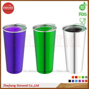 550ml 18/8 Stainless Steel 18/8 Double Insulated Travelling Mug (SD-8023) pictures & photos