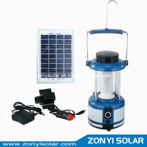 3W Panel Solar Camping Light+Mobile Charger (hot model) pictures & photos