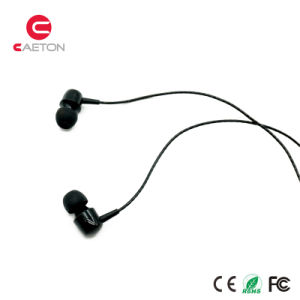 Metal Case Headphones Sports Stereo Portable Earphones with Mic pictures & photos
