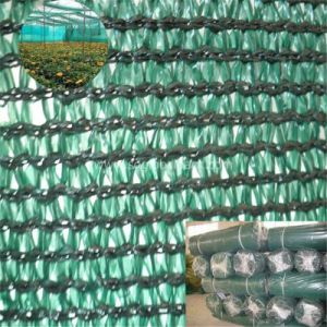 80GSM HDPE Greenhouse Shade Net in Green pictures & photos