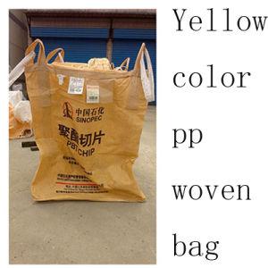 Yellow Color 1000kg PP Bulk Bag