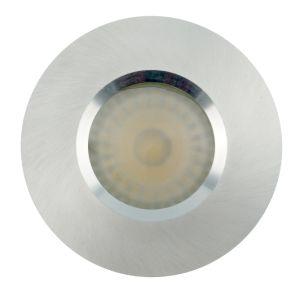 Lathe Aluminum GU10 MR16 Round Fixed Recessed LED Bathroom Downlight (LT2900) pictures & photos