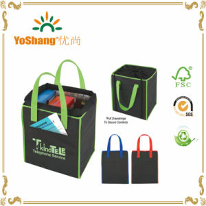 Custom Printed Drawstring Shopper Non-Woven Totes Bags pictures & photos