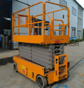 8m Self-Propelled Battery Power Working Platform Lift with Ce Approved pictures & photos