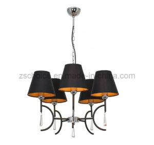 Black Fabric Ceiling Lighting Pendant