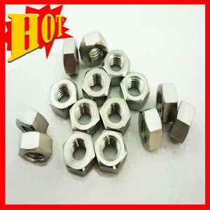 Cp&Titanium Alloy Hexagon Nuts in Stock pictures & photos