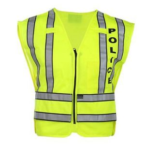 High Quality Reflective Safety Vest for Police pictures & photos