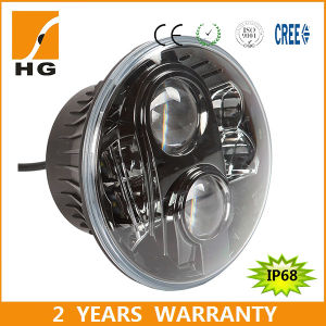 LED 7 Round High Low Beam LED Headlights for Jeep pictures & photos