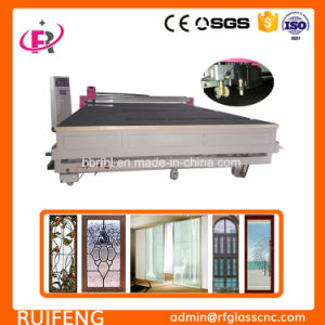 Glass Sand Blasting Assistant Automatic CNC Glass Cutting Machinery (RF3826AIO-P) pictures & photos