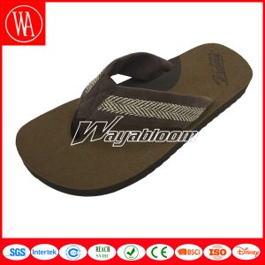 Summer Casual Plain Indoors Men Flip Flops pictures & photos
