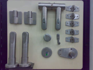 Stainless Steel Bathroom Partition Systems Hardware (KTW08-030)