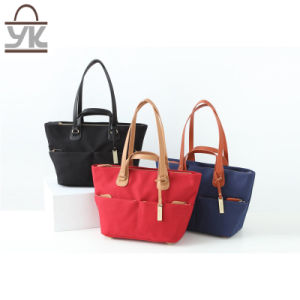 Fashion Ladies Leisure Canvas Handbags pictures & photos