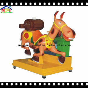 Coin Operated Slot Game Machine Kiddie Ride of Donkey pictures & photos