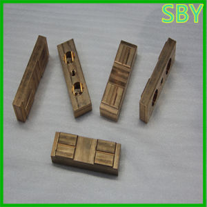 Brass Valve Body Copper Block of CNC Machine Parts (P011)