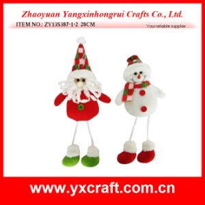Christmas Decoration (ZY16Y108-1-2 15.5CM) Animated Christmas Reindeer pictures & photos