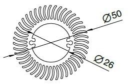 Aluminium Heatsink/Radiator