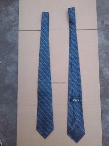 Logo Jacquard Office Staff Pure Silk Necktie pictures & photos