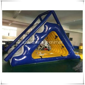 New Coming Triangle Inflatable Water Slide Aqua Park Toys pictures & photos