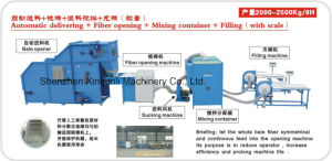 Fiber Opening & Filling Machine Production Line pictures & photos