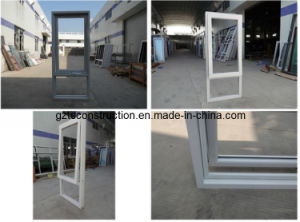 Australia Standard Aluminum Awning Window with AS/NZS2208 Glass pictures & photos