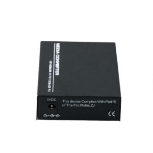 10/100Mbps Optical Fiber Media Converter Bi-Directional 10km (MC1001SC) pictures & photos