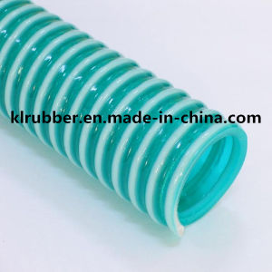 Plastic Rib Reinforced PVC Suction Hose pictures & photos