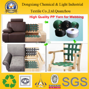 Sofa Webbing High Tenacity Intermingled PP Yarn pictures & photos