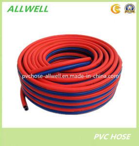 Plastic PVC Flexible Oxygen and Acetylene Welding Twin Hose pictures & photos