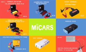 Good Quality Mini Car Jump Starter Power Bank 12000mAh Universal Car Jump Starter Power Bank pictures & photos