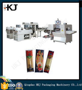 Full Automatic Spaghetti Packing Machinery with Three Weighters pictures & photos