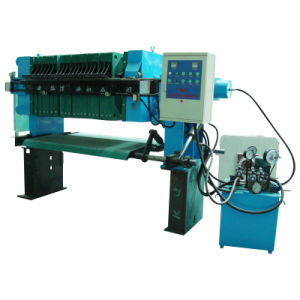 800 Series Automatic Filter Press with DIP Tray (XZ20-80/800-U)