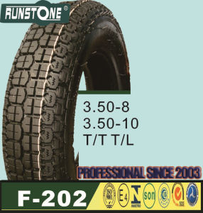 Scooter Tyre3.50-8 3.50-10 T/T T/L pictures & photos
