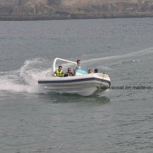 Liya Luxury 10 Passenger Rib Boat Inflatable Motor Boat Sale pictures & photos