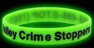 Fashion Green Glow in Dark Silicone Wristband pictures & photos