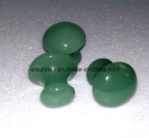 Semi Precious Stone Aventurine Crystal Massage Stone pictures & photos