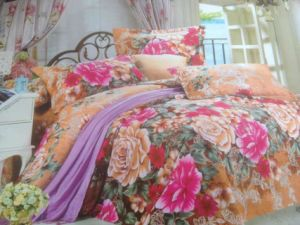 Ployester Brushed Fabric for Bedding Sets pictures & photos