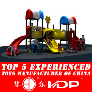 2014 New Outdoor Plastic Playground Set (HD14-037b) pictures & photos