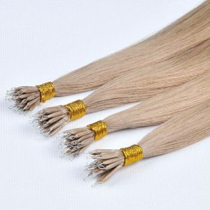 Chinese Virgin Remy Nano Ring Human Hair Extension pictures & photos