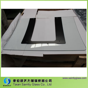 High Quality Tempered Curved Glass for Range Hoods pictures & photos