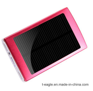 Fashion Genuine Slim Polymer Solar Mobile Power 10, 000 Ma Power Bank pictures & photos