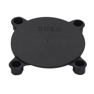 Black Dn50 Flange Cover pictures & photos