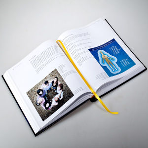 Hardcover Spine Round Book pictures & photos
