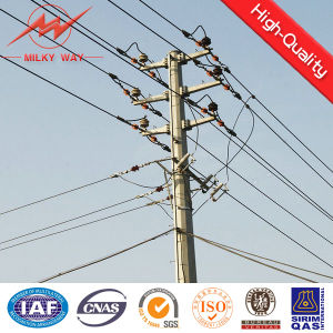 11m Electricity Transmission Galvanized Steel Pole pictures & photos