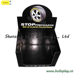 Motor Oils Paper Display PDQ Box, Corrugated Color Cardboard PDQ Display Box, Pop Paper Display (B&C-D023) pictures & photos