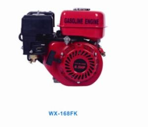 China 5.5HP 163cc Four -Stroke Gasoline Engine with CE Strandard Wx-168fk pictures & photos