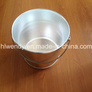 Aluminium Milk Pail Bucket with FDA pictures & photos