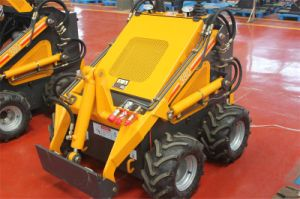 China Mini Skid Steer Loader Hy380 with 28HP Gas Engine pictures & photos
