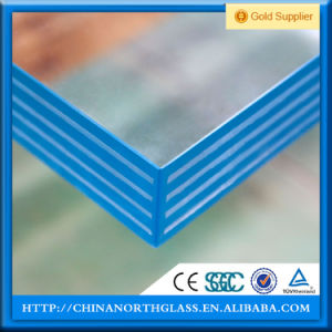 Triple Laminated Glass with Clear Sgp Interlayer pictures & photos