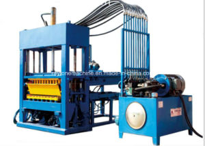 Paver Manufacturer Qt 6-15 Hydraulic Full Automatic Making Brick Hollow Block Making Machine pictures & photos