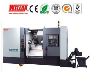 Slat Bed CNC Lathe Machine (Slat Bed CNC Turning Lathe CLK6140S CLK6150S) pictures & photos